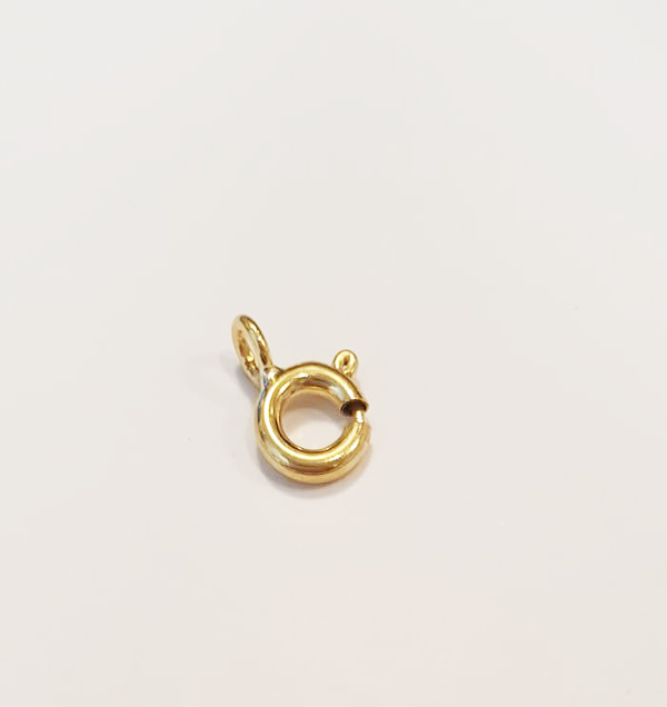 rolled gold bolt ring